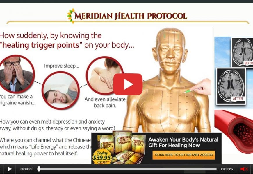 Meridian Health Protocol Review -Tips To Practice Healing!
