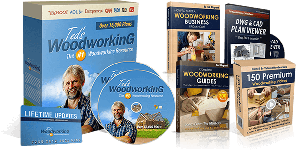 Ted's woodworking Review – Blueprints Are Schematic working!