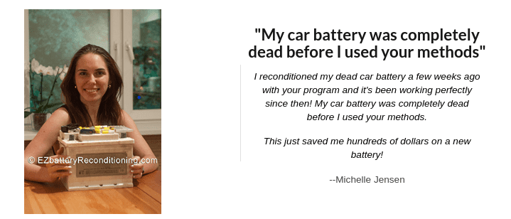 Ez Battery Reconditioning Testimonial