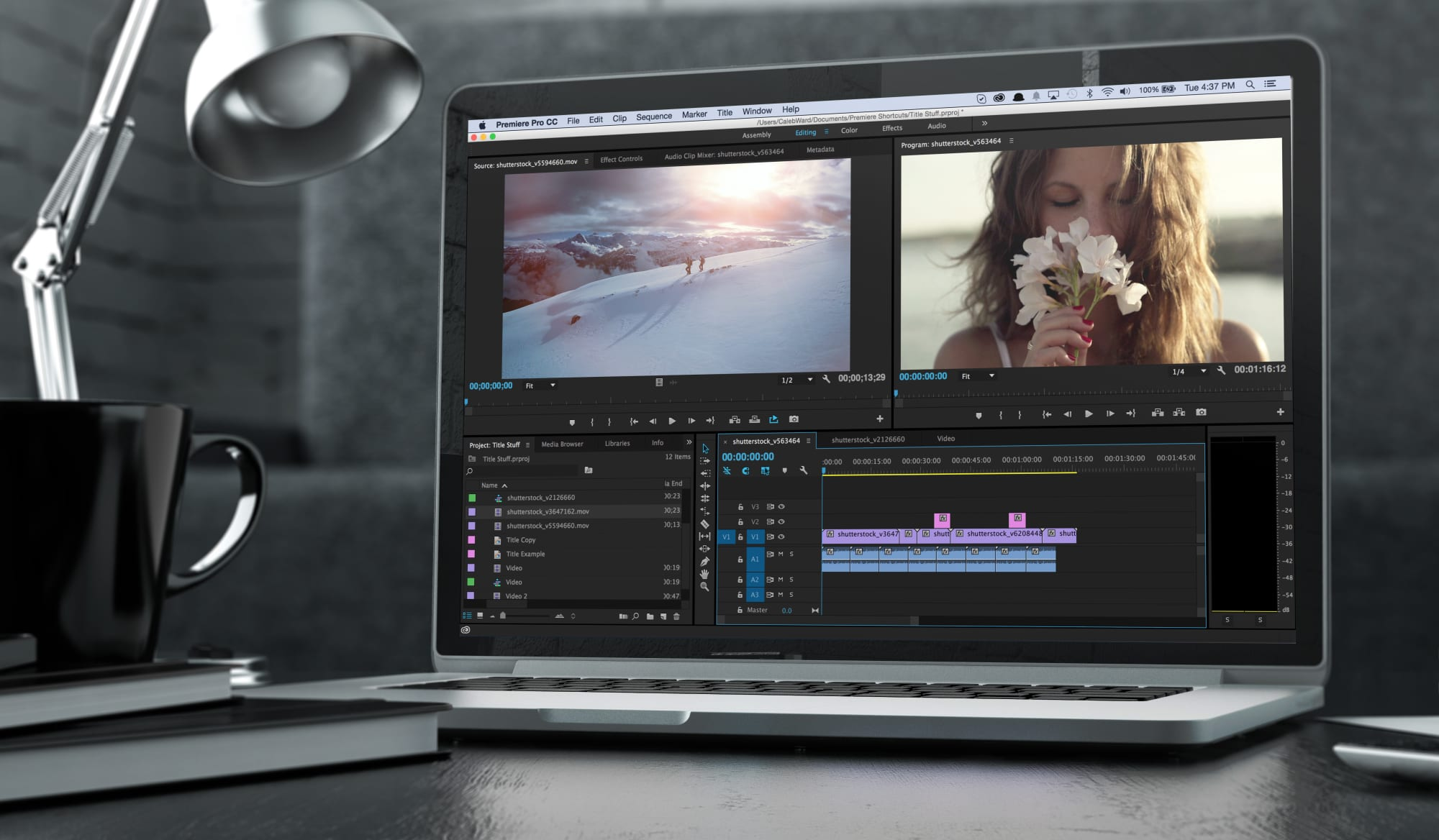 Vidvamp video editor