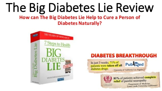 The Big Diabetes Lie Review – Normalize Your Blood Sugar!