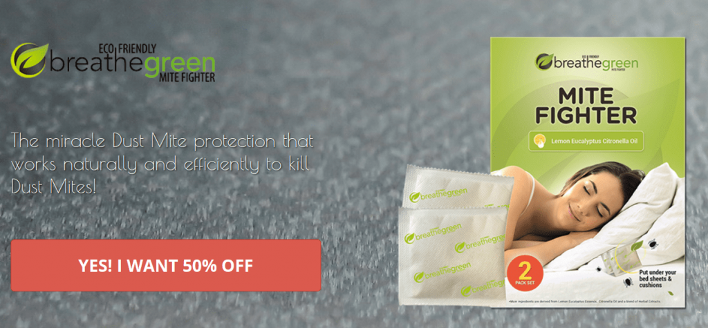 Breathe Green Dust Mites Review – Kill Dust Mite Allergies!