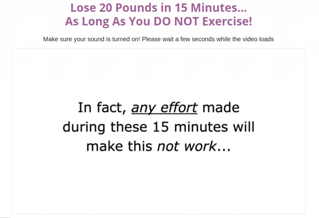 15 Minute Weight Loss Review – Easy Way To Get Rid Of Fat!!