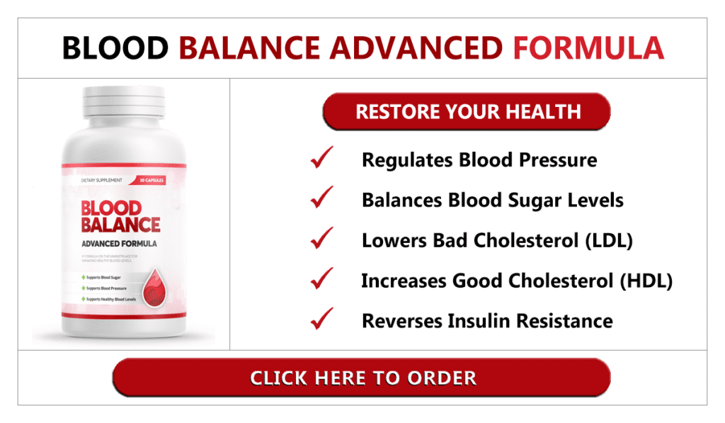 Blood Balance Formula Review –  Does This Supplement Work?