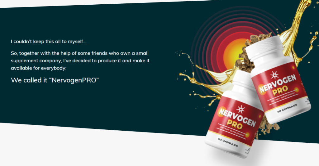 Nervogen Pro Review – Work To Reduce Nerve Pain!