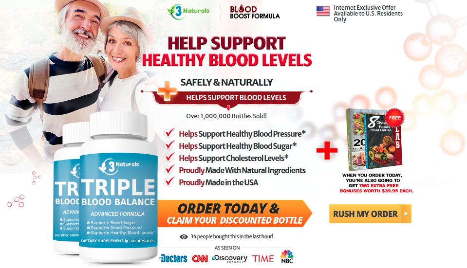 Triple Blood Balance Review – Maintaining a Healthy Blood Sugar!!